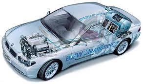 images de la voiture à l'hydrogène bis