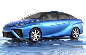 images de la voiture à l'hydrogène